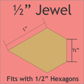 "1/2"" Jewels (100 Pieces)"