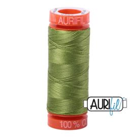 Aurifil Quiltgaren- MAKO 50 - 200 meter - Kleur: 2888 - Fern Green