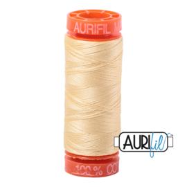 Aurifil Quiltgaren- MAKO 50 - 200 meter - Kleur: 2105 - Champagne