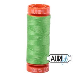Aurifil Quiltgaren- MAKO 50 - 200 meter - Kleur: 6737 - Shamrock Green