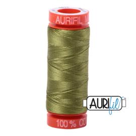 Aurifil Quiltgaren- MAKO 50 - 200 meter - Kleur: 5016 - Olive Green