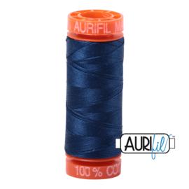 Aurifil Quiltgaren- MAKO 50 - 200 meter - Kleur: 2783 - Medium Delft Blue