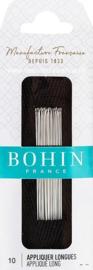 Bohin - Applicatie Naalden Nr. 10 - LANG - 15 stuks