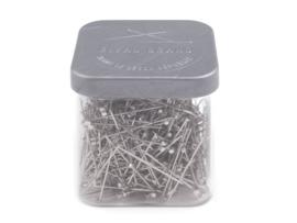 Stalen spelden KORT - 18 x 0,65mm - 50 gram