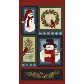 PANEL:  'A Very Woolie Winter' by Benartex - 10354-99