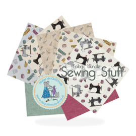 Stofbundel Sewing Stuff - 7x 25 x 25 cm