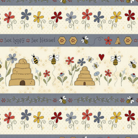 'All About The Bees' by Gail Pan - 2421-33 CREAM