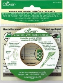 Clover Fusible Bias Tape - 10 mm