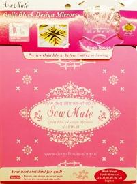Sew Mate - Quilt Block Design Spiegel