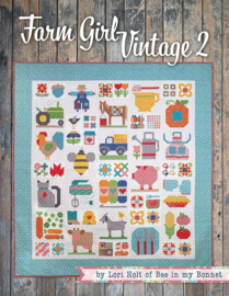 Boek: 'Farm Girl Vintage 2' by Lori Holt
