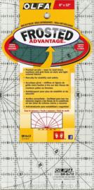OLFA Frosted - Antislip Liniaal - 6 x 12 inch