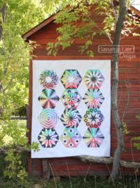 Patroonboek: 'Arcadia Avenue' - A Block of the Month Quilt Pattern - by Sassafras Lane Designs