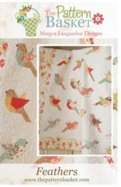 Patroon: 'Feathers' by Margot Languedoc