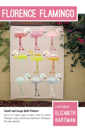 Patroon:  Florence Flamingo by Elizabeth Hartman