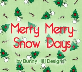 Moda - 'Merry Merry Snow Days' by Bunny Hill Designs