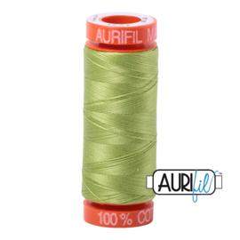 Aurifil Quiltgaren- MAKO 50 - 200 meter - Kleur: 1231 - Spring Green