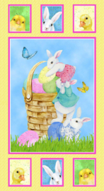 PANEL:  'Easter Parade' by Barb Tourtillotte