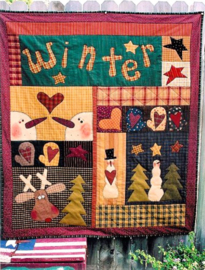 Meme's Quilts - 'Winter Wonder'