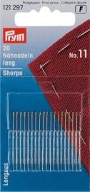 Naainaalden met scherpe punt - lang - No.11 (20 stuks) (Prym)
