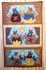 Meme's Quilts - 'Good Morning Chicks'