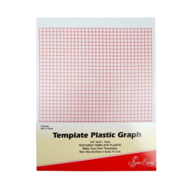 Paternoplaat - Template Plastic Graph (Sew Easy)