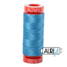 Aurifil Quiltgaren- MAKO 50 - 200 meter - Kleur: 1320 - Bright Teal