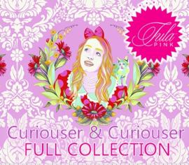 Tula Pink - Curiouser & Curiouser - 25 Halve Meters