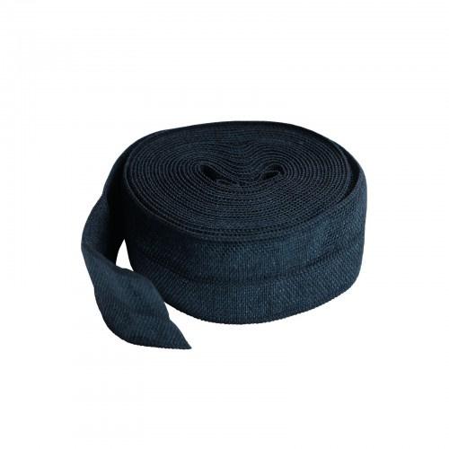 Fold over elastic - 2 yard - Navy