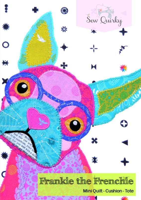 Patroon: 'Frankie the Frenchie' by Sew Quirky