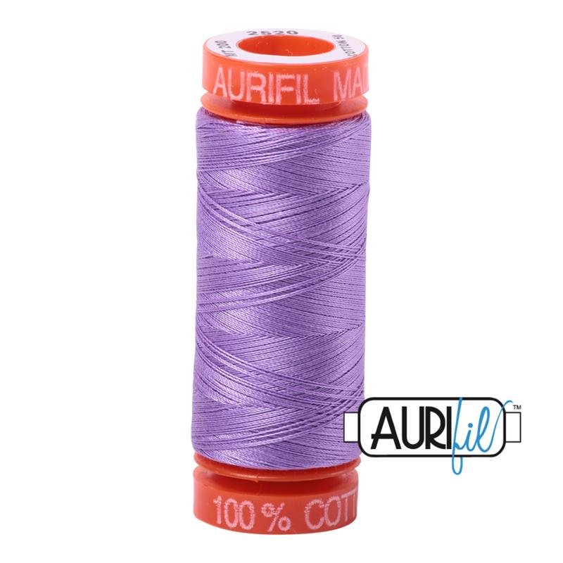 Aurifil Quiltgaren- MAKO 50 - 200 meter - Kleur: 2520 - Violet