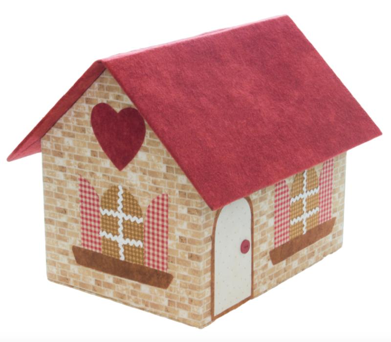Kartonnage - Opbergdoos 'Cozy Cottage'