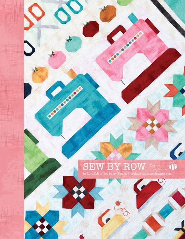 Patroonboek: 'Sew by Row' by Lori Holt