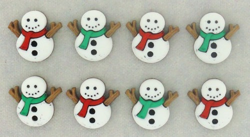 "Knoopjes ""Dress It Up"" - Sew Cute Snowmen"