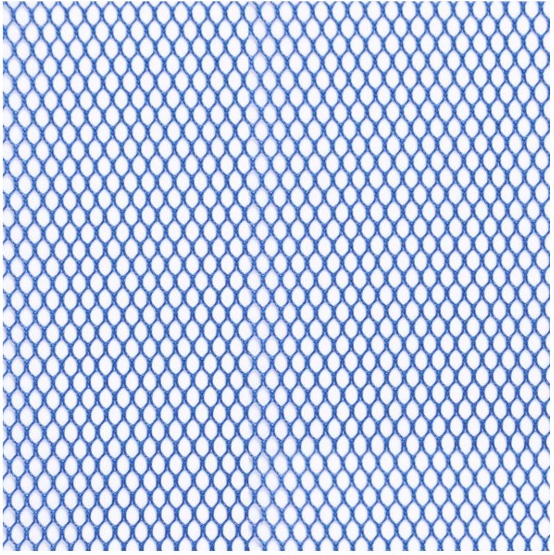 Mesh Fabric - 18 x 54 inch - Blastoff Blue