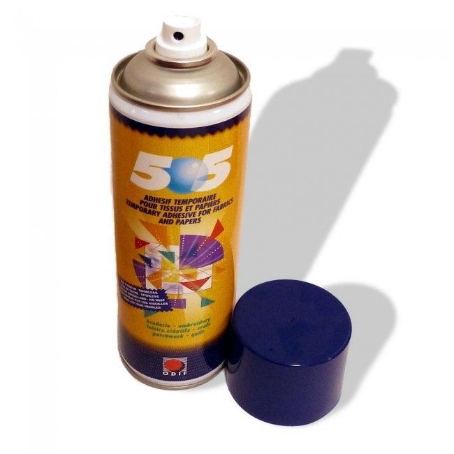 Odif 505 - Tijdelijke lijmspray voor stoffen en papier