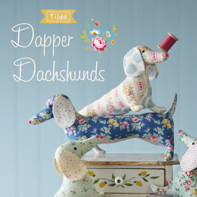PAKKET - AppleButter Sewing Kit Dapper Dachs (Tilda)