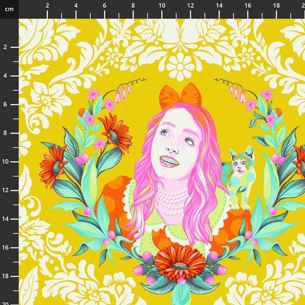Tula Pink - Curiouser & Curiouser -  Alice - PWTP159.SUGAR