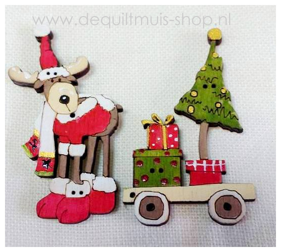 Knoopjes Christmas - Buttonpic