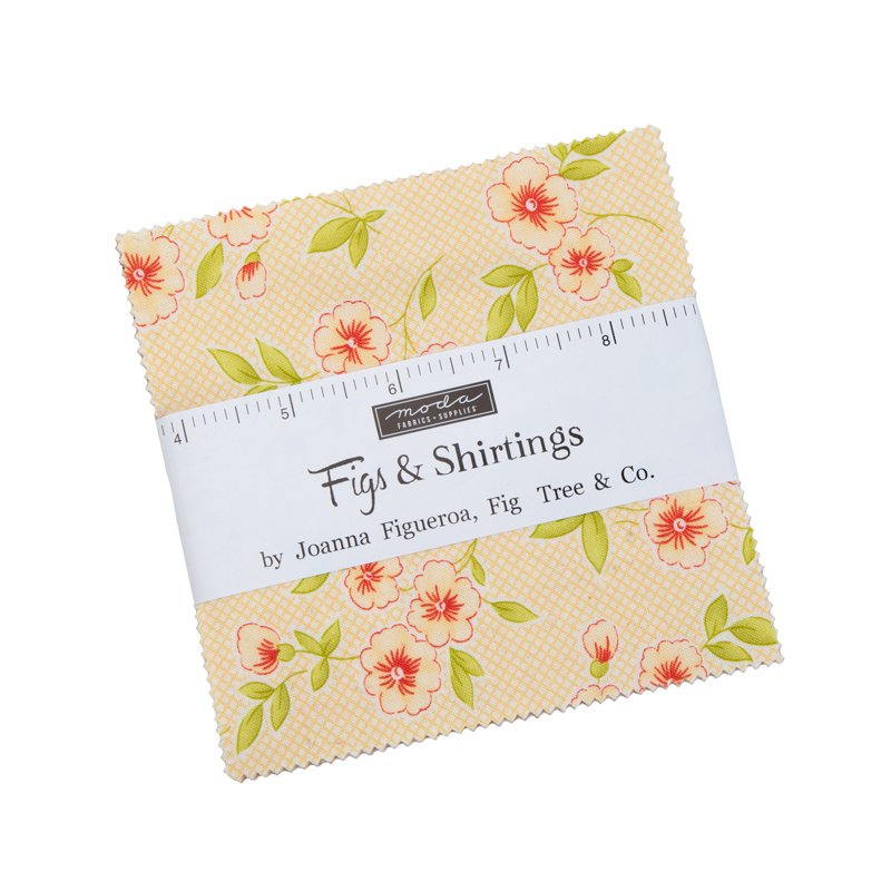 """Moda - 'Figs & Shirtings' by Fig Tree & Co - 5"""" Charm Pack"""
