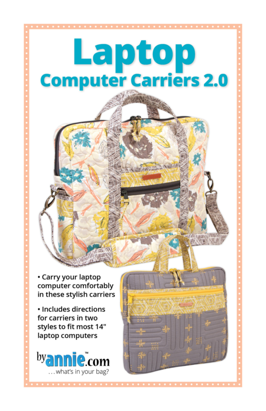 Patroon: 'Laptop - Computer Carriers2.0' - by Annie - PBA122-2
