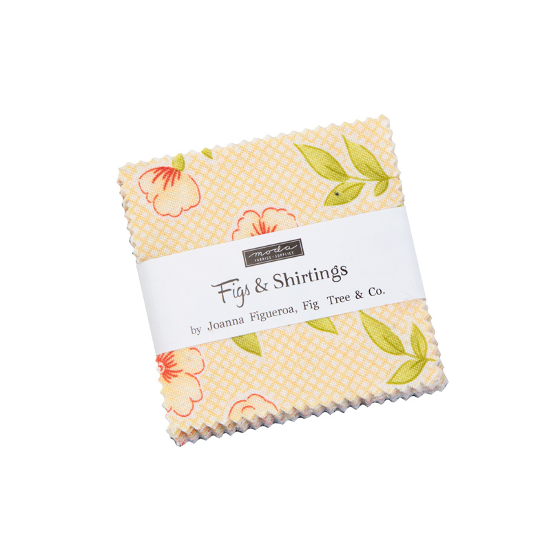 """Moda - 'Figs & Shirtings' by Fig Tree & Co - 2,5"""" Candy Pack"""