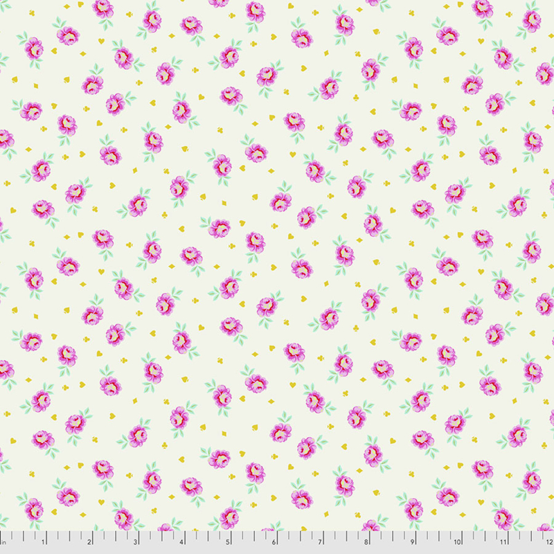 Tula Pink - Curiouser & Curiouser - Baby Buds - PWTP167.SUGAR