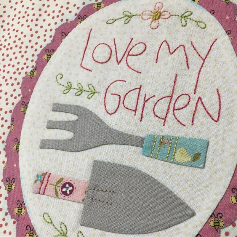 Patroon: 'Willowbrook Market Garden' by Natalie Bird