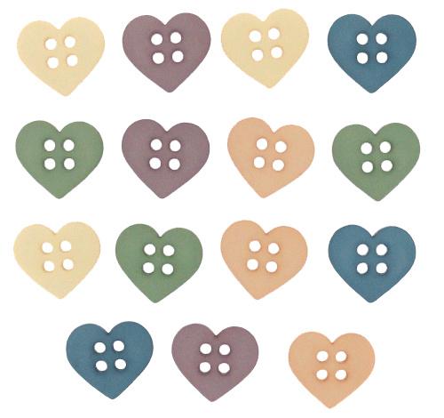 "Knoopjes ""Dress It Up"" - Sew Cute Hearts"