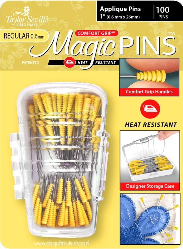 Taylor Seville - Magic Pins - Applique - REGULAR - 100 stuks