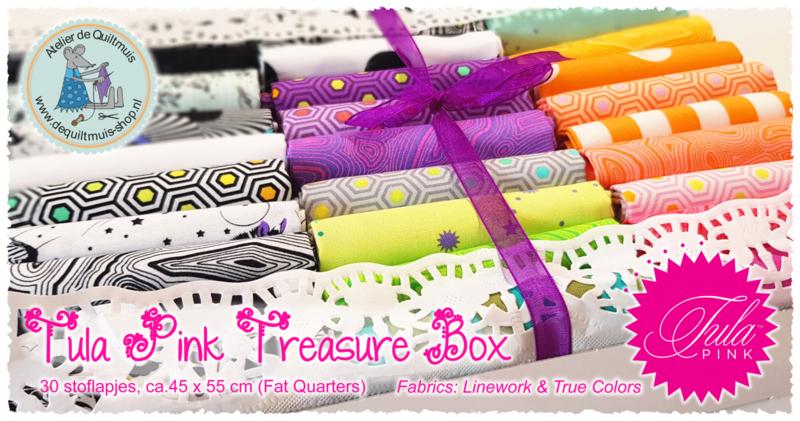 TULA PINK 'TREASURE BOX' - Fat Quarter