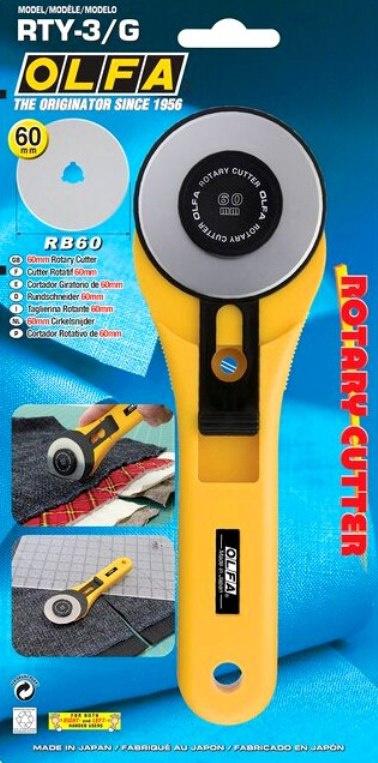 OLFA RTY-3/G - Rotary Cutter - 60 mm