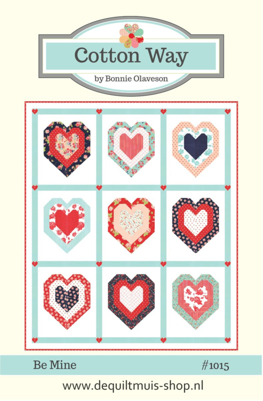 Patroon:  Be Mine by Bonnie Olaveson