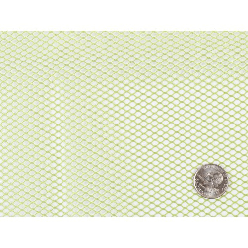 Mesh Fabric - 18 x 54 inch - Apple Green