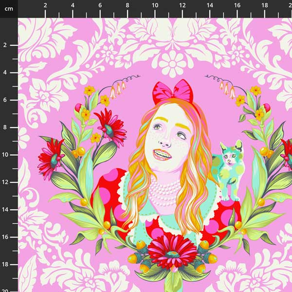 Tula Pink - Curiouser & Curiouser -  Alice - PWTP159.WONDER
